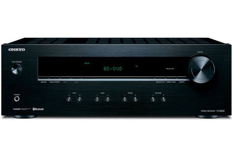 Onkyo Black Stereo Receiver With Bluetooth - TX-8220