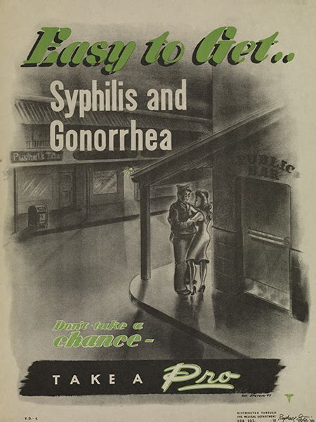 Crazy Venereal Disease Posters from WWII – CVLT Nation