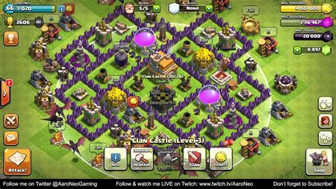 Town Hall Level 7 (TH7) Base MAXED OUT Completely Upgrade
