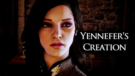 Yennefer's creation in Dragon Age Inquisition - YouTube