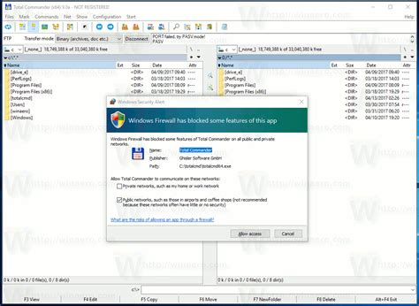 How To Allow Or Block Apps In Windows Firewall in Windows 10