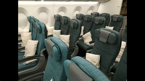 CATHAY PACIFIC A350 XWB FULL CABIN TOUR & REVIEW - YouTube