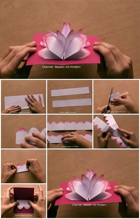 How to Make Mother's Day Gift Pop Up Card | UsefulDIY