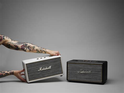 Marshall's First Wireless Speaker Adds a Touch of Analog