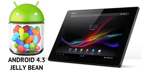 Sony Xperia Tablet Z gets official Android 4