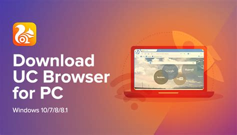 Download UC Browser for PC/Laptop Windows 10/7/8
