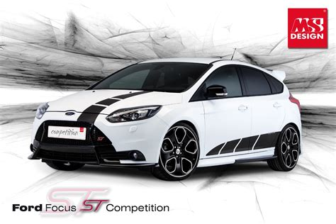 2013 Ford Focus ST Competition by MS Design Looks Hot