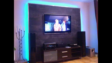 LED TV Wand selber bauen, Cinewall do it yourself - YouTube