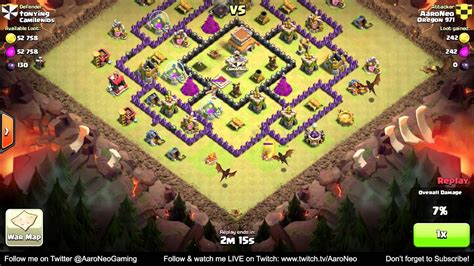 BEST Town Hall Level 8 (TH8) Clan Wars Attack Strategy